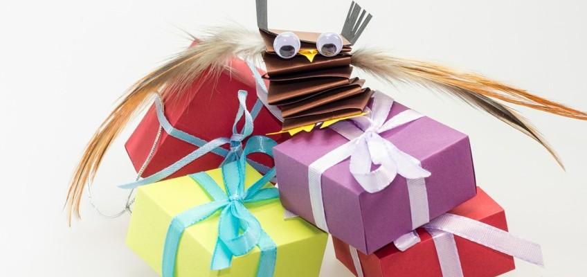 4 nápady, jak originálně a netradičně zabalit dárek