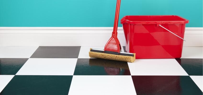 Vezměte jarní úklid od podlahy