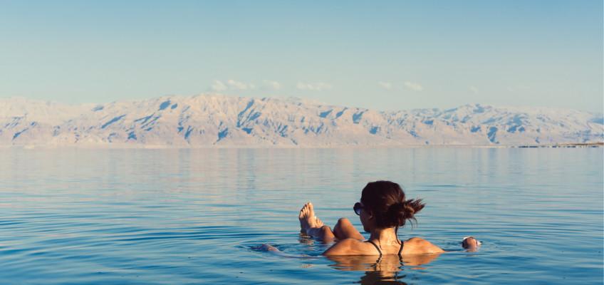 Terapie solí: zázrak z Mrtvého moře