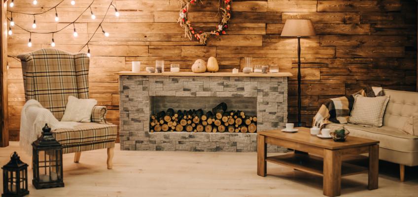 Podzimní plískanice za okny, vizuálně hřejivý a útulný interiér u vás doma. Jak na to?