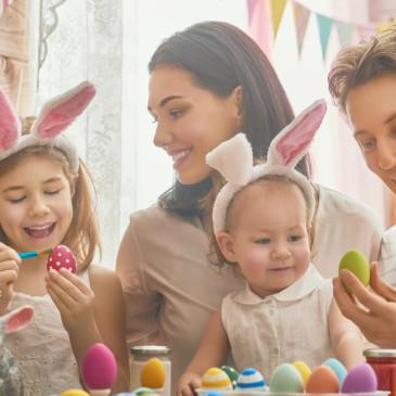 Jaro je tu a blíží se Velikonoce. Naplánujte zábavný program pro celou rodinu
