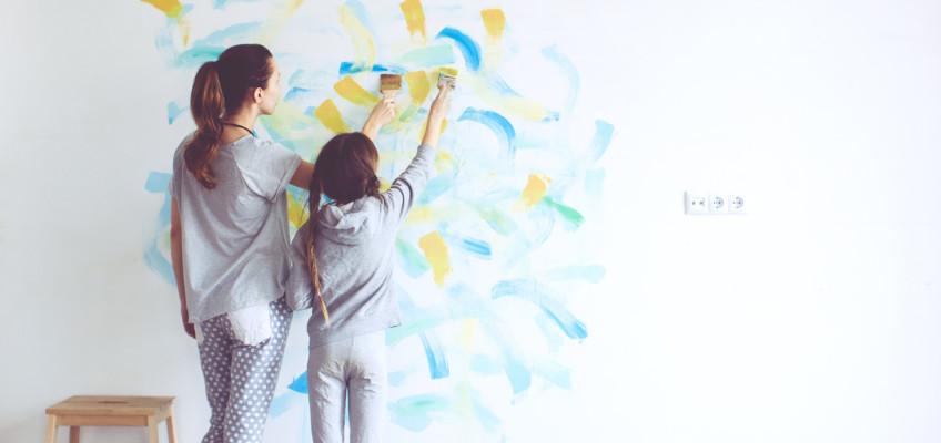 Společná tvůrčí činnost dětí a rodičů je zdrojem vzájemného obohacení