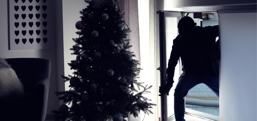 Nepodceňujete zabezpečení vašeho domova, zloději řádí i mezi svátky