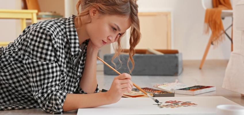 Objevte kouzlo relaxačního kreslení. Pomůže vám zbavit se nahromaděného napětí