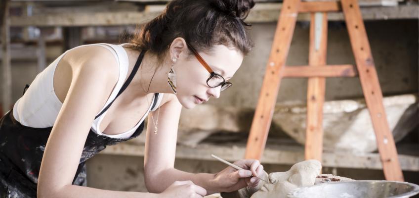 Umělecká tvorba vám pomůže hodit stres všedních dnů za hlavu