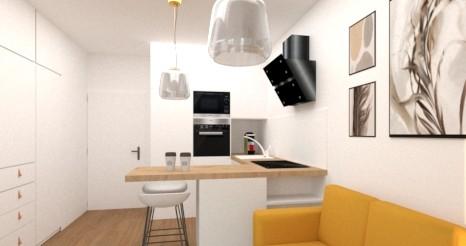 I malometrážní byty mohou být velkým královstvím. O své tipy se podělila interiérová designérka Anke Glut
