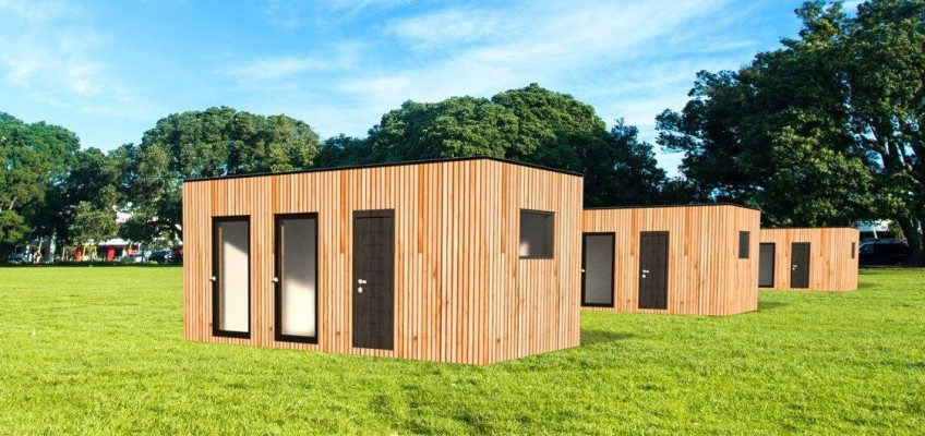 Přestavěné chaty zlodníchkontejnerů vám poskytnou veškerý komfort